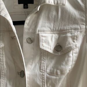 The Limited Jackets & Coats - The Essential White Denim Jacket